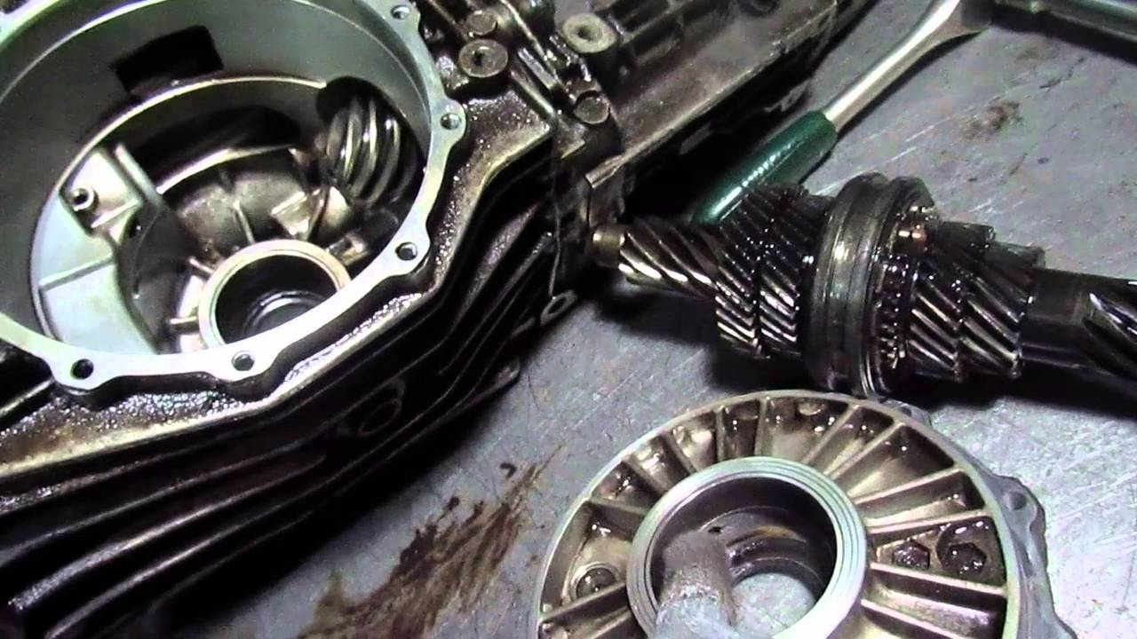 Audi 80  ремонт кпп замена подшипников регулеровка