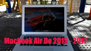 Macbook Air 2015 - 2017 ¿Sirve en 2020?