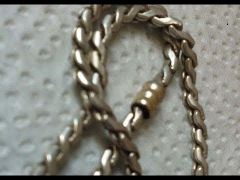 e10de3fda53f Cómo limpiar una cadena de plata fácilmente - YouTube