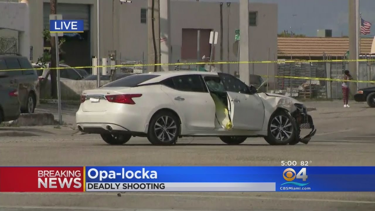 One Dead After Car Riddled With Bullets In Opa-locka