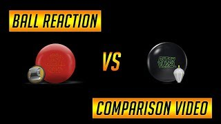 Roto Grip Hot Cell Ball Reaction Comparison to Storm Pitch Black