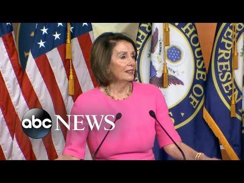 Nancy Pelosi says Trump needs 'an intervention'