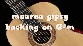 backing track moorea style gipsy kings G#m