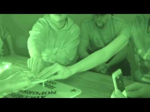 Ouija board seance @ basement of Cecil hotel, Medicine Hat, Alberta Halloween 2016)