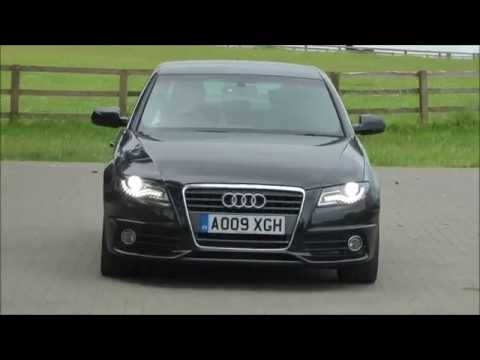 audi a4 2l tdi s line 2009 saloon review test youtube. Black Bedroom Furniture Sets. Home Design Ideas