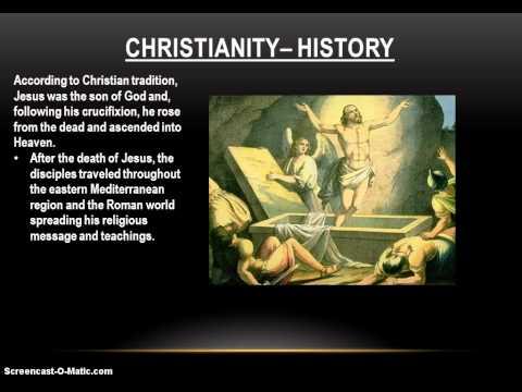 History of World Religions - Christianity