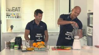 How To Make An Awesome Orange And Banana Smoothie (with Michael Klim)