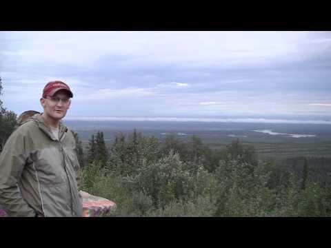 Ester, Alaska overlook