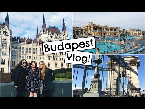 No Rest in Budapest | Study Abroad Travel Vlog!