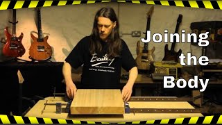 Build Your Own Guitar - Joining the Body Blanks