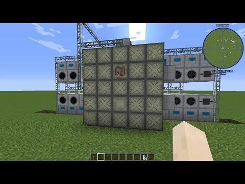 Minecraft Nuclear Heat Reactor 22400Hu/s IC2 (Nükleer Reaktör)