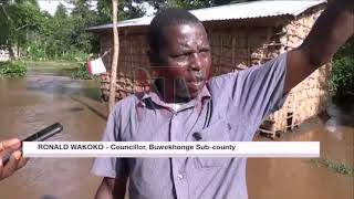 Residents forced to flee homes after heavy rains