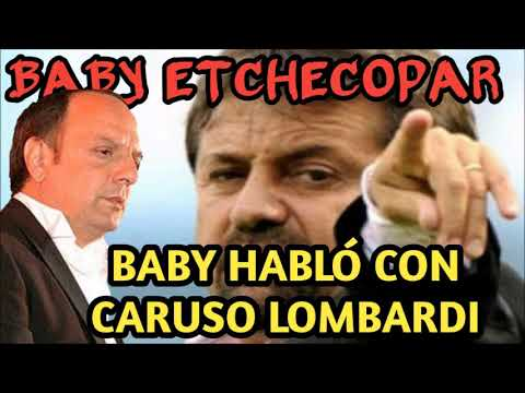 hqdefault baby etchecopar hablo caruso lombardi con baby sobre tigre youtube