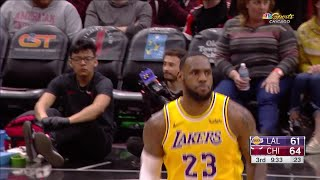 3rd Quarter, One Box Video: Chicago Bulls vs. Los Angeles Lakers