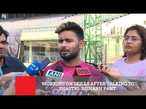 Working On Skills After Talking To Shastri- Rishabh Pant