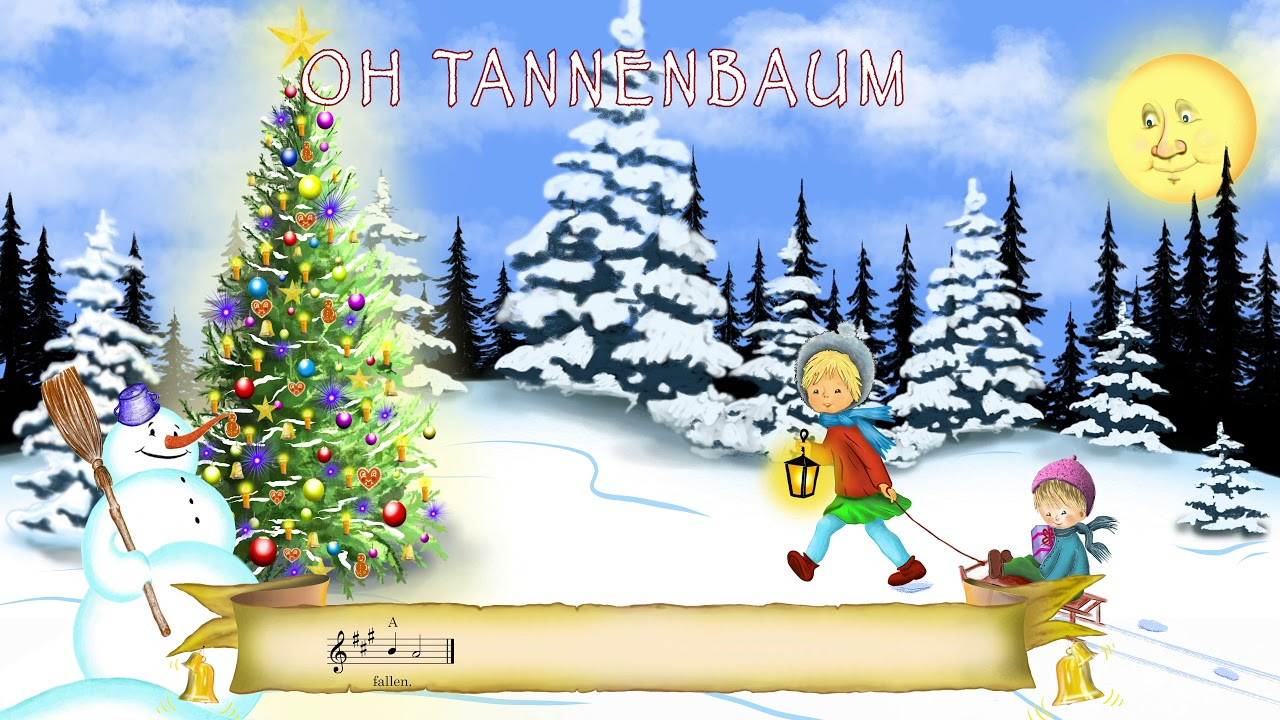 Oh Tannenbaum Kinderlied