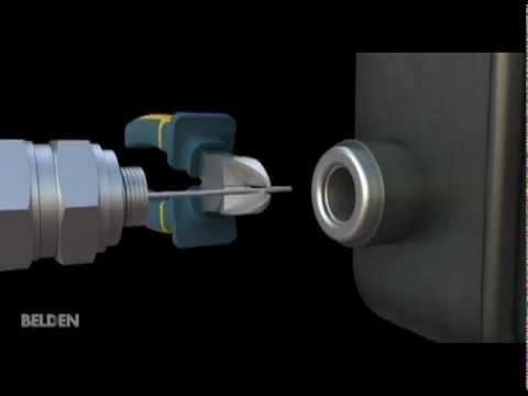 Belden W-Series® Hardline Three-Piece Connectors