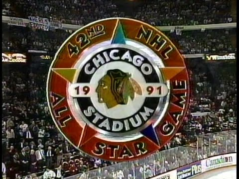 1991 NHL All-Star Game, Chicago Stadium (intros, anthems)
