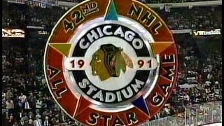 1991 NHL All-Star Game, Chicago Stadium (intros, anthems)
