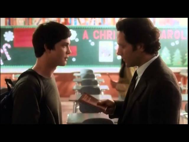 Perks of being a wallflower - Charlie and his teacher