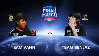 All Stars Show Match: Team vanN vs Team Benjaz, The Final Match LAN-Final