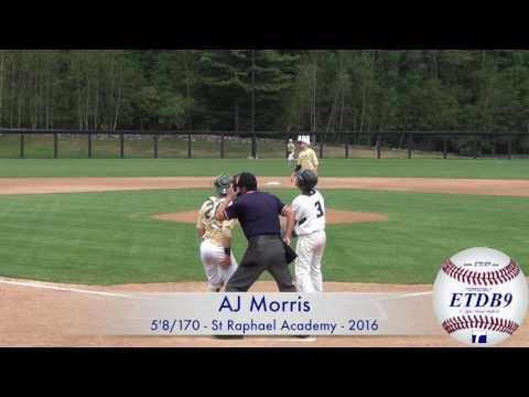 AJ Morris - St Raphael Academy - 2016