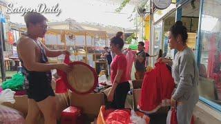 Toàn cảnh dọn sân khấu Đoàn lô tô Sài Gòn Tân Thời khỏi địa chỉ Rubik Zoo