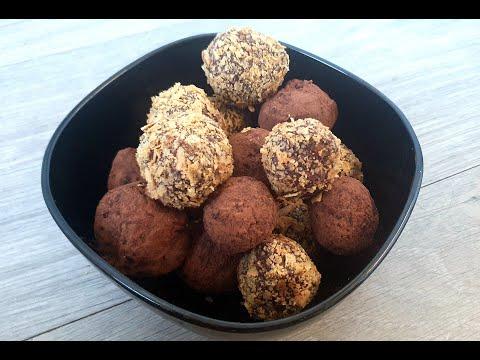 truffes-au-chocolat/-truffes-croustillantes-aux-crêpes-dentelles-🍫😋الكمأ-الشوكولاته