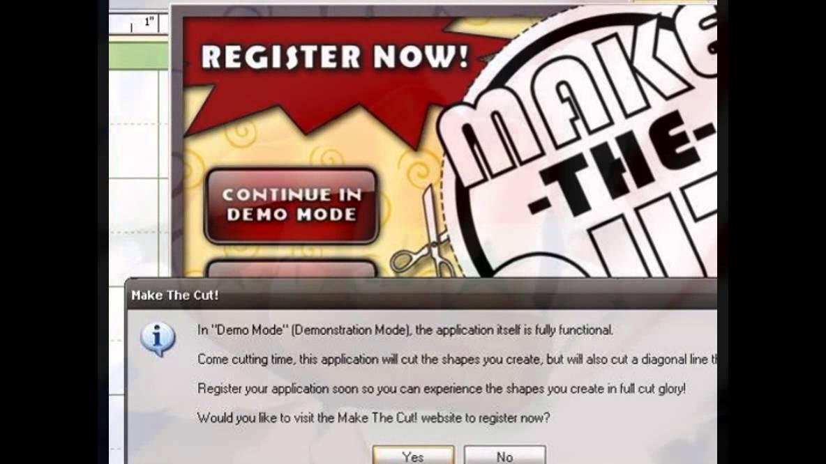make the cut 4.6.1 registration code