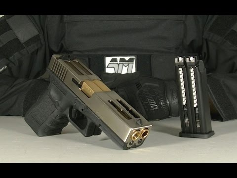DOUBLE BARREL GLOCK 18 / WE Double Barrel G18 / AIRSOFT