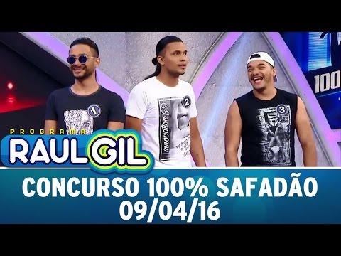 Programa Raul Gil (09/04/16) - Concurso 100% Safadão