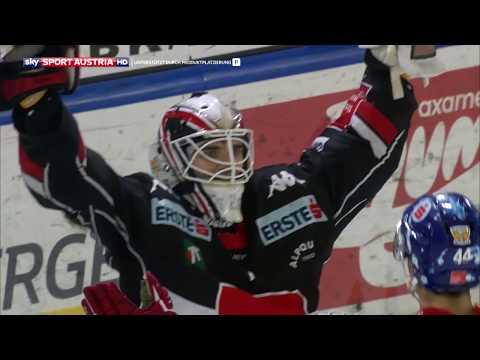 """Erste Bank Eishockey Liga, Viertelfinale 4: HC TWK Innsbruck """"Die Haie"""" vs. Vienna Capitals  4:3"""