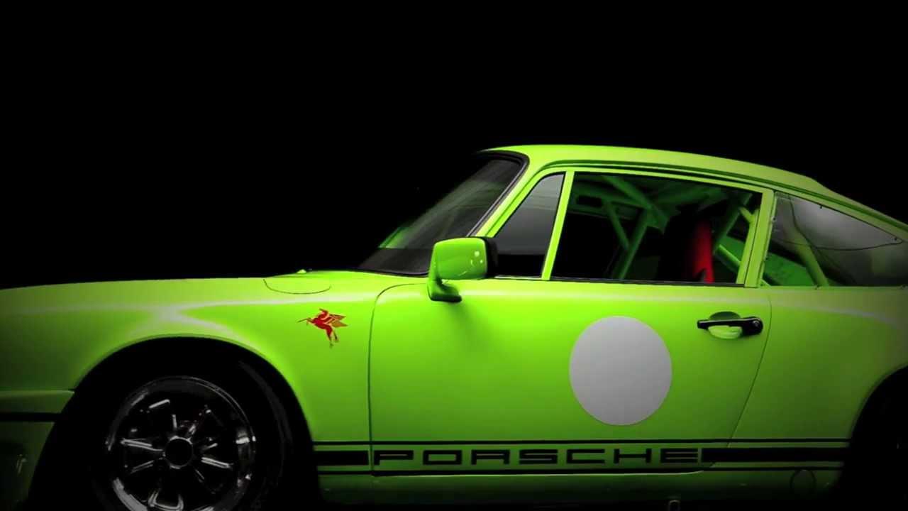 911 Race Car Green