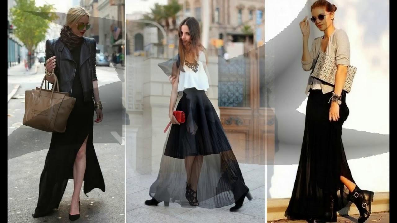 7e7b5b7df0 Tendencias de Moda 2018 - Como combinar una falda - YouTube