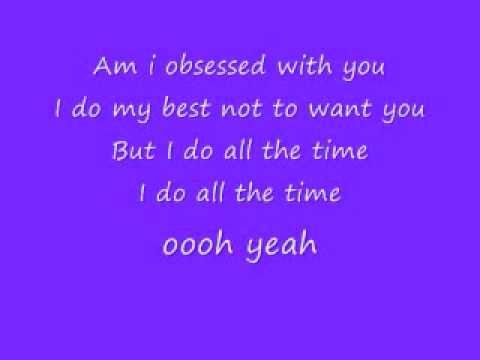 Miley Cyrus-Obsessed (lyrics)