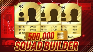 FIFA 17 THE BEST 500K FUT CHAMPIONS SQUAD BUILDER - UNSTOPPABLE 2 LEAGUE HYBRID - ULTIMATE TEAM