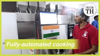 Chennai startup creates 'robochef' that can cook 600 dishes in bulk