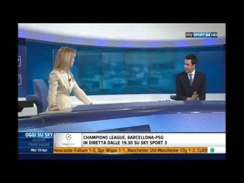 Juventus Stadium e gli altri stadi in Italia e in Europa - Barbara Ricci a Sky Sport 24