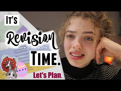 How I've Planned My Revision for Easter Holidays! 🐣 Motivation & Advice x
