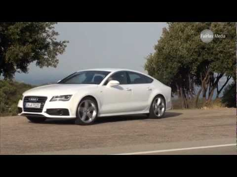 audi a7 tdi 2010 first drive luxury. Black Bedroom Furniture Sets. Home Design Ideas