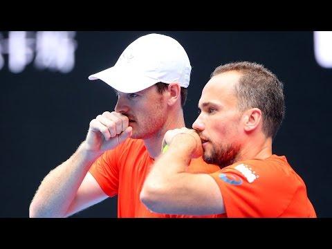 Murray/Soares v Mannarino/Pouille highlights (SF) | Australian Open 2016