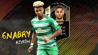 FIFA 18 - INFORM GNABRY (82) PLAYER REVIEW