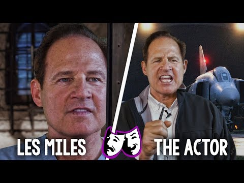 Actor Les Miles performs 3 classic movie scenes