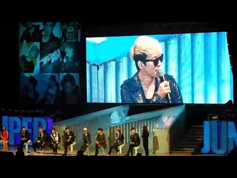 [Eng CC] Talk 2 Choosing Girlfriend, SJM Beijing Fan Party 130414 [FanCam]