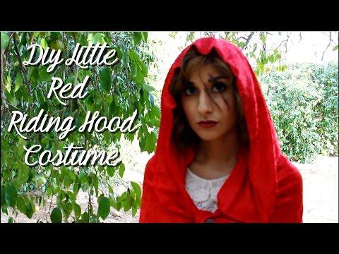 Diy Little Red Riding Hood Costume Diy Cloak