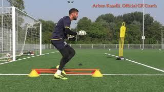 Arben Kasolli Keeperstraining FC Dordrecht First Team The Netherlands. Inside Goalkeeping Coaching