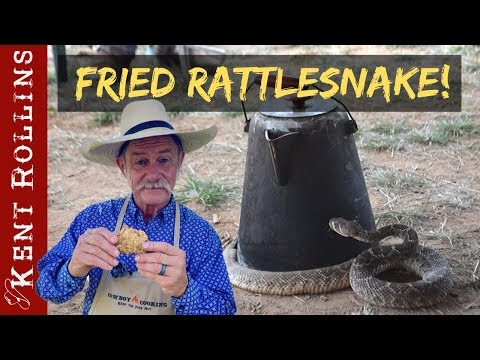 Fried Rattlesnake