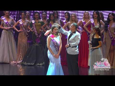 2019 Miss Tourisim Metropolitan International Crowning Moment