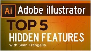 Top 5 Hidden Features of Adobe Illustrator (Illustrator Tutorial) - Sean Frangella