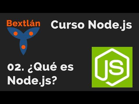 Curso Node.js: 2. ¿Qué es Node.js?